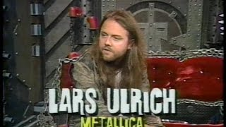 Metallica's Lars Ulrich on MTV Headbangers Ball (1993) [TV Broadcast]