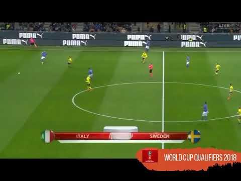 ITALIA VS SWEDIA || ITALIA GAGAL LOLOS PIALA DUNIA