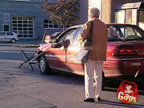 Blind driver prank
