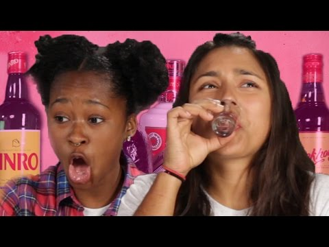Americans Try Asian Liquor For The First Time