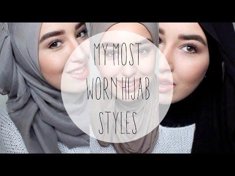 HIJAB TUTORIAL | My 3 most worn hijab styles