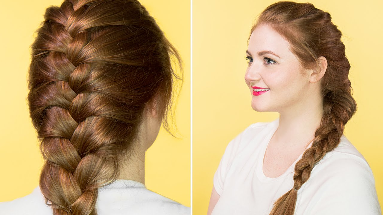 Hair tutorial how to french braid youtube ccuart Choice Image