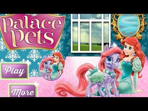 NEW Игры для детей—Disney Принцесса Ариэль и королевский ...