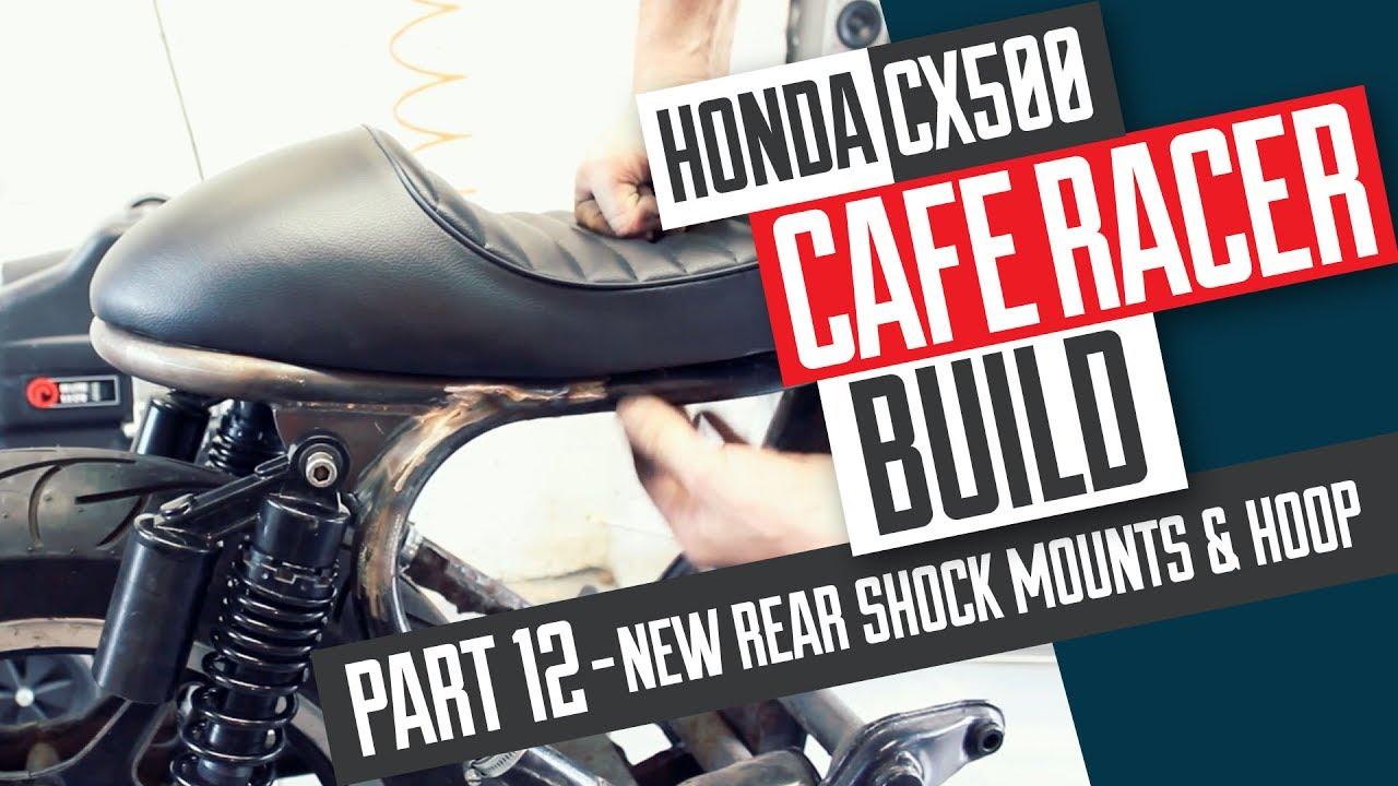 Honda CX500 Cafe Racer Build 12