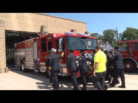 Glassboro,NJ Fire Department Squad 26 Housing & Parade 8/26/17