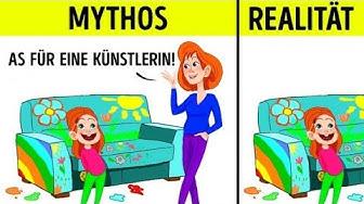 9 moderne Mythen über Mütter