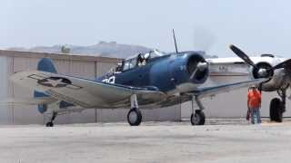 SBD ドーントレス 出発 [SBD Dauntless taxi out]