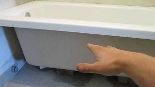 Установка акриловой ванны (Не стандартный способ)(, 2017-09-19T19:24:12.000Z)
