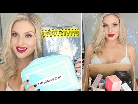 Beauty Haul & Unboxing! ♡ High End, Korean Makeup, Glambot & More!