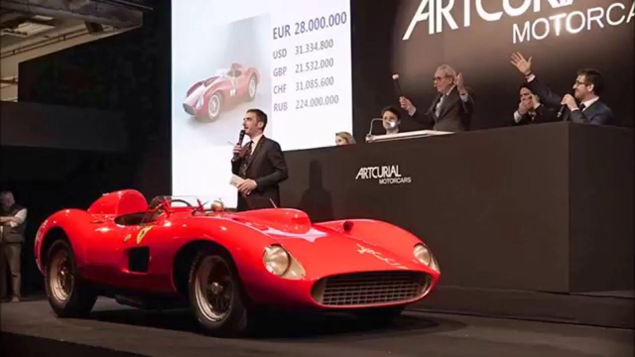 1957 Ferrari 335 Sport Spider Scaglietti 36 2 Million World S Most Expensive Car Youtube