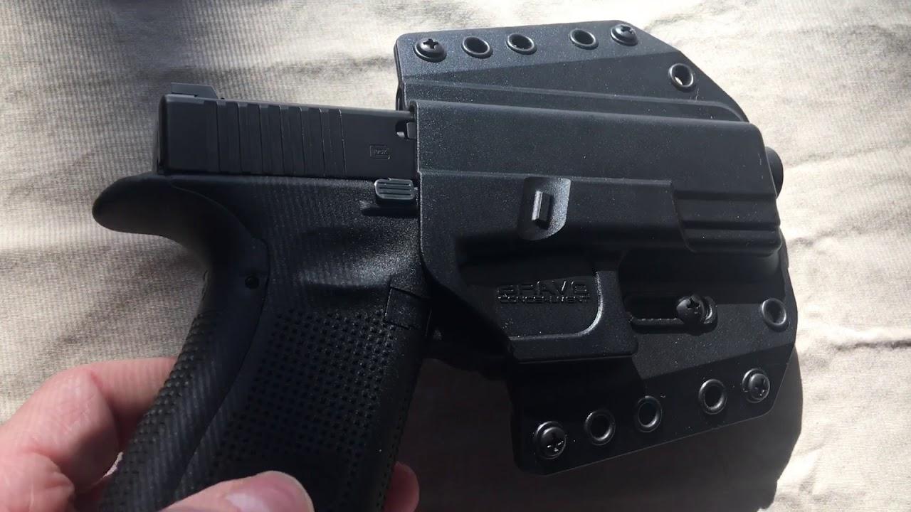 Bravo Concealment OWB Holster for Glock 26 Gen 5