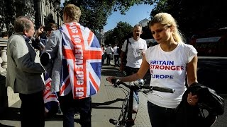 British youth worry Brexit vote will mean big changes