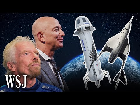 How Jeff Bezos and Richard Branson's Space Flights Will Differ | WSJ