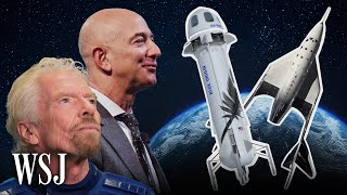 How Jeff Bezos and Richard Branson's Space Flights Will Differ   WSJ