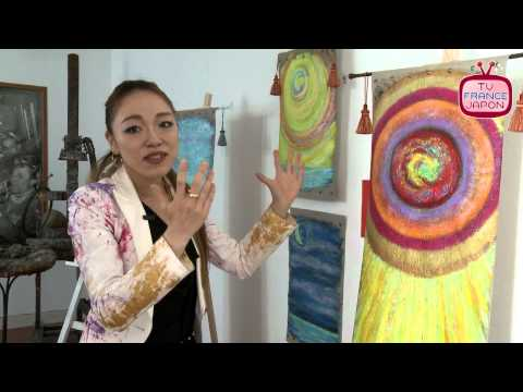 interview with painter from japan Yuuka Yamada in Paris