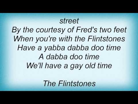 B-52's - (Meet) The Flintstones Lyrics_1