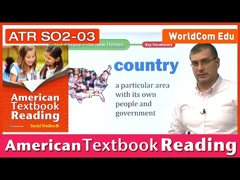 Learn English   American Textbook Reading   Social Studies 2   Lesson 03   Brian Stuart(미국교과서)