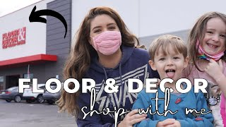 Floor & Decor + Shop with me | Interior Design | Home Improvement on a Budget