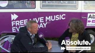 Norman Cook  - AKA Fatboy Slim Interview: V Festival 2009
