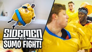 Sidemen sumo fight