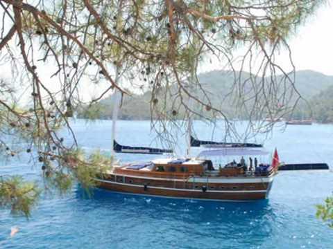 Charter gulet Ugur in Turkey.wmv