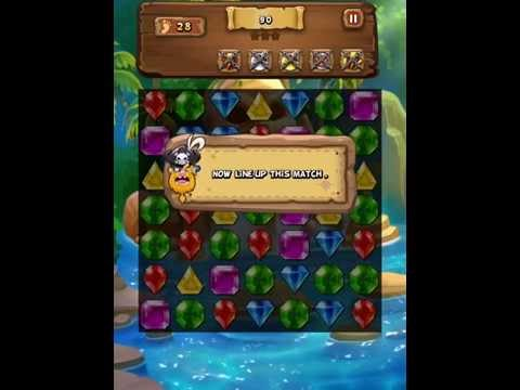 Jewel Mash - Match-3 Puzzle Game For Android, IPhone & IPad