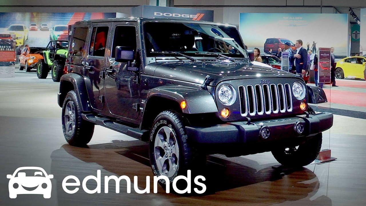 2017 Jeep Wrangler Review Features Rundown Edmunds