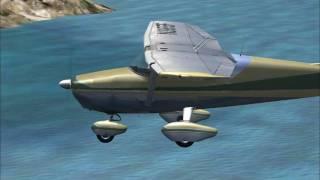 Classic Cessna 172-  St Barth Island -  Caribbean  FS2004
