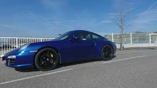 911 997 Carrera 4S PDK Bleue Aquatique