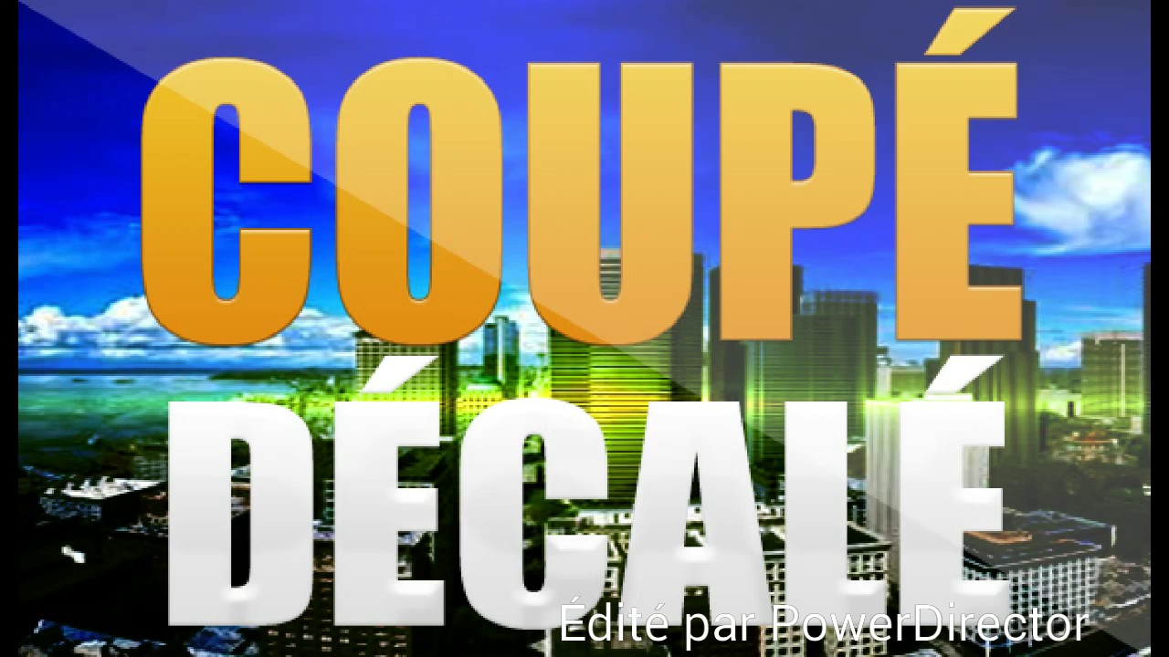 coupé decalé megamix 2017