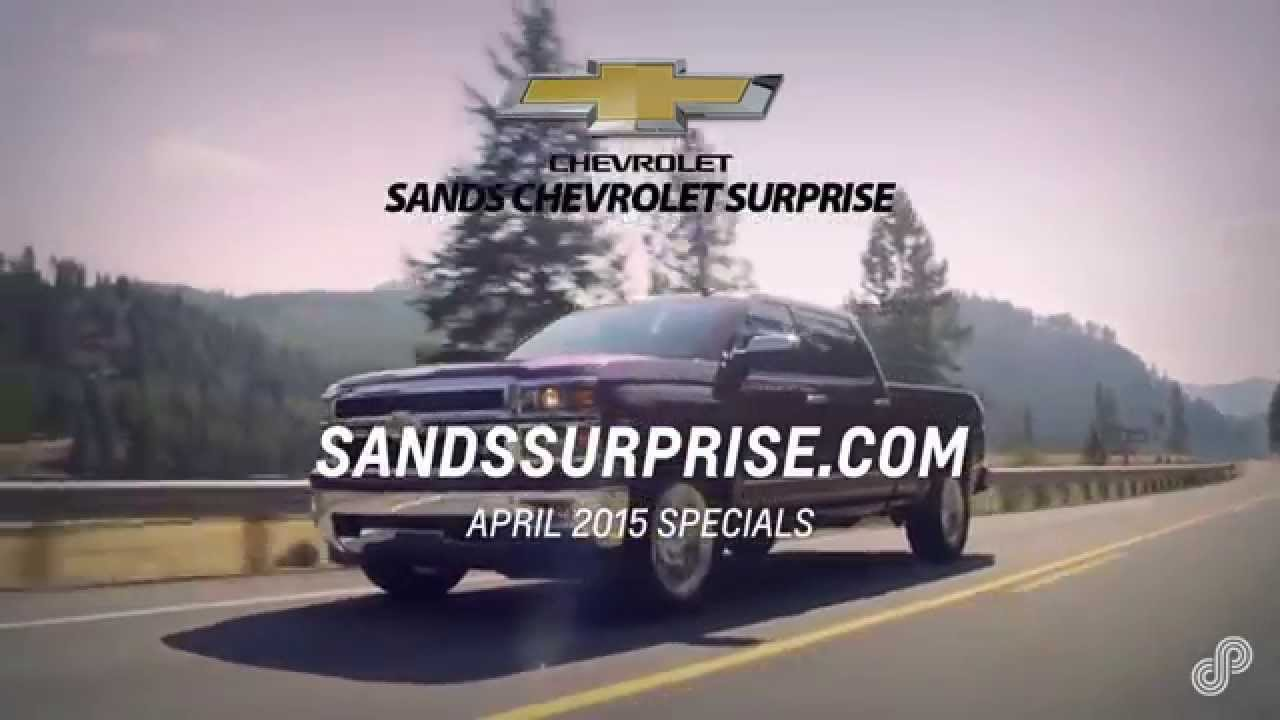 sands chevrolet surprise offers spl 4 15 youtube. Cars Review. Best American Auto & Cars Review