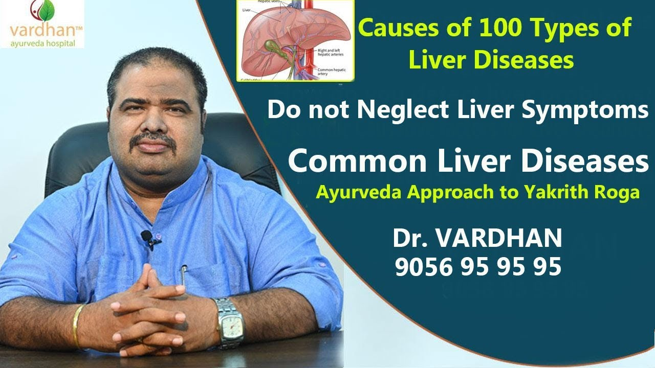 Liver Diseases:Do not Neglect Liver symptoms|Ayurveda treament for Liver Diseases in HYD :Dr VARDHAN