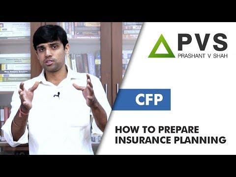 How To Study Insurance Planning | CFP | Prashant V Shah
