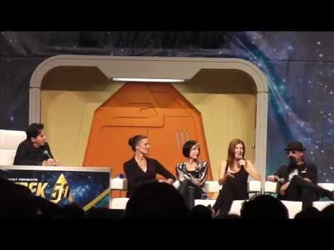 Deep Space 9 Panel (Part 2 out of 2) at the 2016 Star Trek Convention