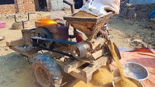 Homemade Auto Rice Milling Machine - Homemade Inventions 2018