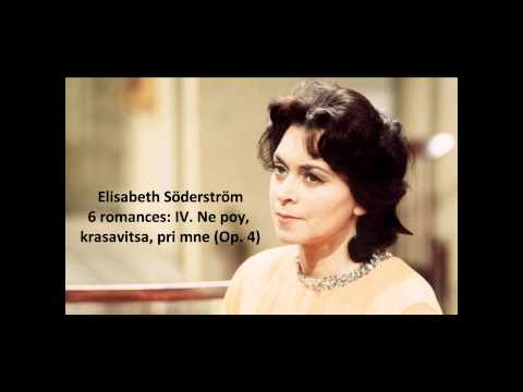 Elisabeth Söderström: The complete