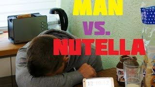 Challenge: MAN vs NUTELLA | 4K