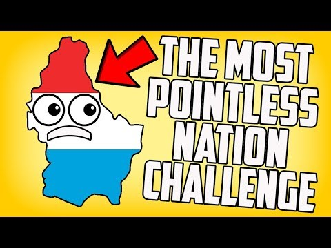 The Most Pointless Nation Luxembourg Hearts of Iron 4 HOI4 Challenge