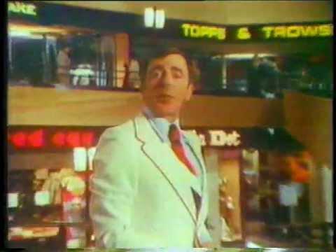 Ken Berry 1975 Kinney Shoes Commercial
