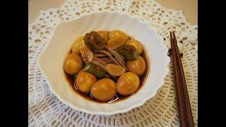 Корейская кухня: Чан чорим (장조림) или маринованная говядина и перепелиные яйца