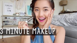 3 Minute Makeup Challenge | clothesencounters