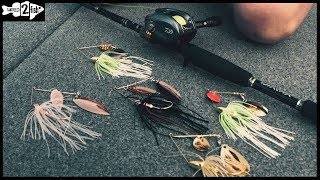 How to Power Fish Spinnerbaits for River Bass