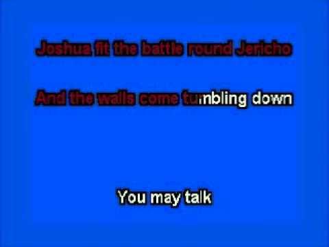 elvis karaoke joshua fit the battle