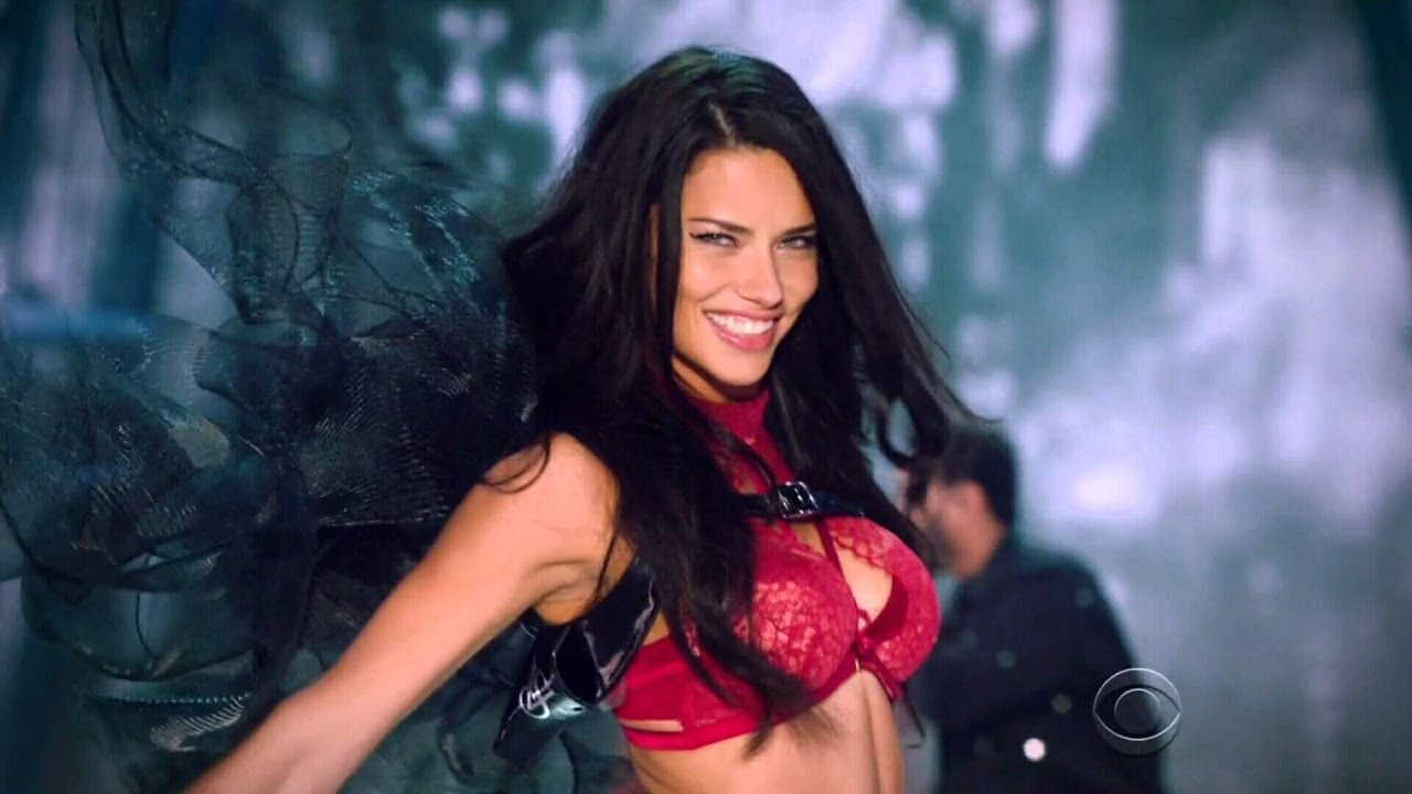 adbe418df7 Adriana Lima Victoria s Secret Runway Walk Compilation 2003-2016 HD -  YouTube