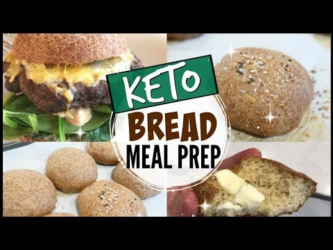 😱ULTIMATE KETO FAMILY MEAL PREP ○ AMAZING YEAST BREAD BUNS