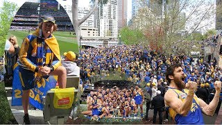 THE 2018 AFL GRAND FINAL EXPERIENCE *LIVE* - West Coast Eagles vs Collingwood Magpies