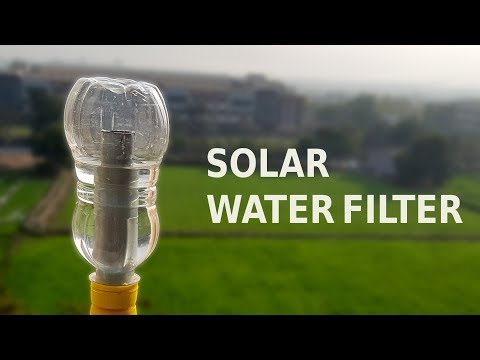How to make Solar Water Filter | Easy Life Hack
