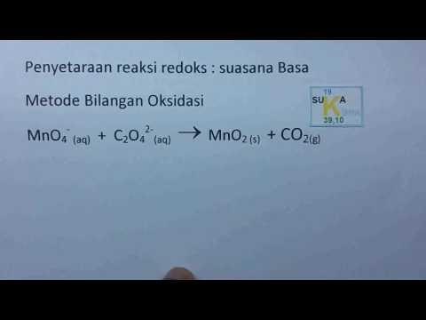 Penyetaraan Reaksi Redoks Metode Biloks - Kimia Sma(1)