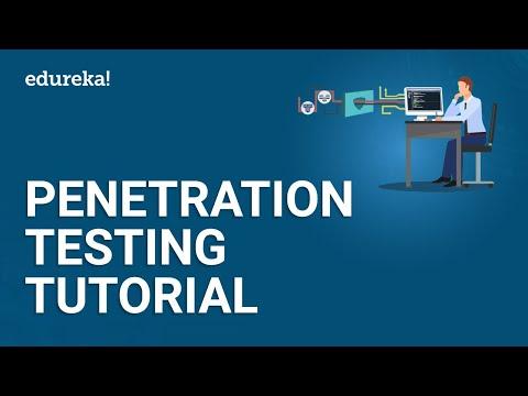 Penetration Testing Tutorial | Penetration Testing Tools | Cyber Security Training | Edureka