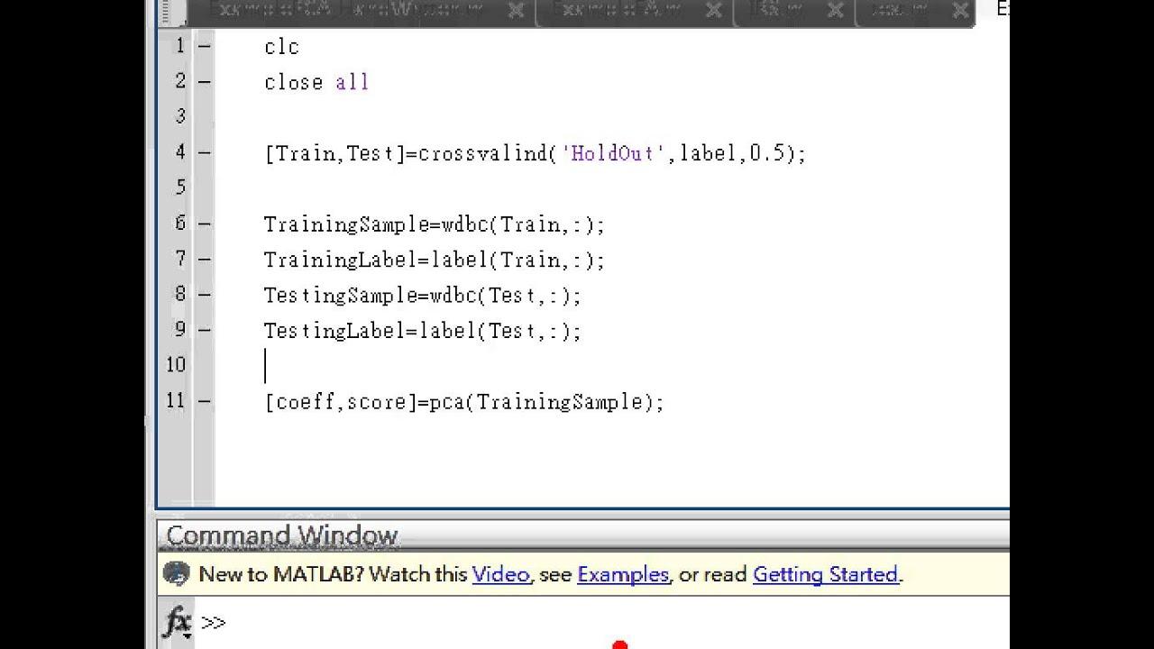 Pca On Image Matlab Code